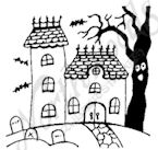 B9576 Tiny Spooky House