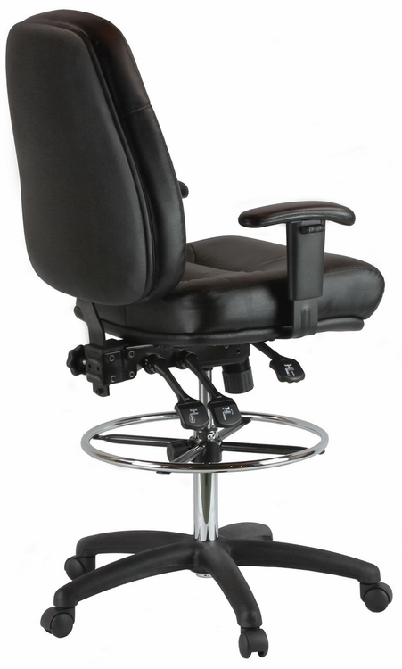 Harwick Ergonomic Premium Leather Drafting Chair [100KL]  sc 1 st  Direct Office Chairs & Ergonomic Premium Leather Drafting Chair [100KL] islam-shia.org