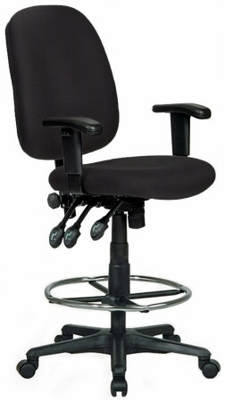 Lovely ... Harwick Ergonomic 35 Inch Extra Tall Drafting Chair [6058C D] ...