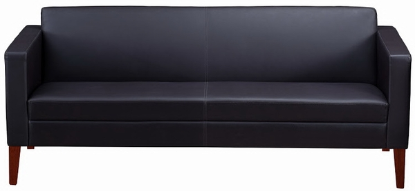 Mayline Prestige Collection Leather Office Sofa Vcl3