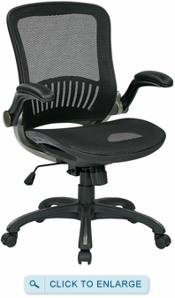 Office Star Deluxe Full Mesh Office Chair [EMH69007]