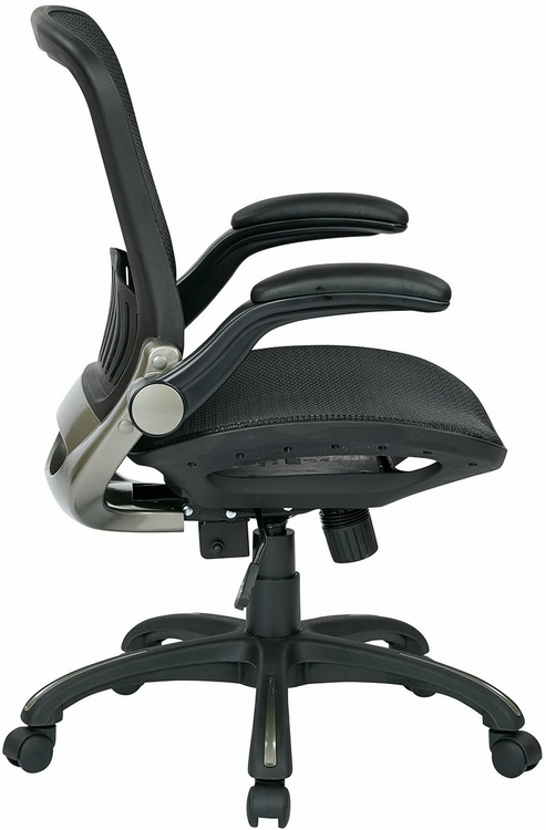office star deluxe full mesh office chair emh69007