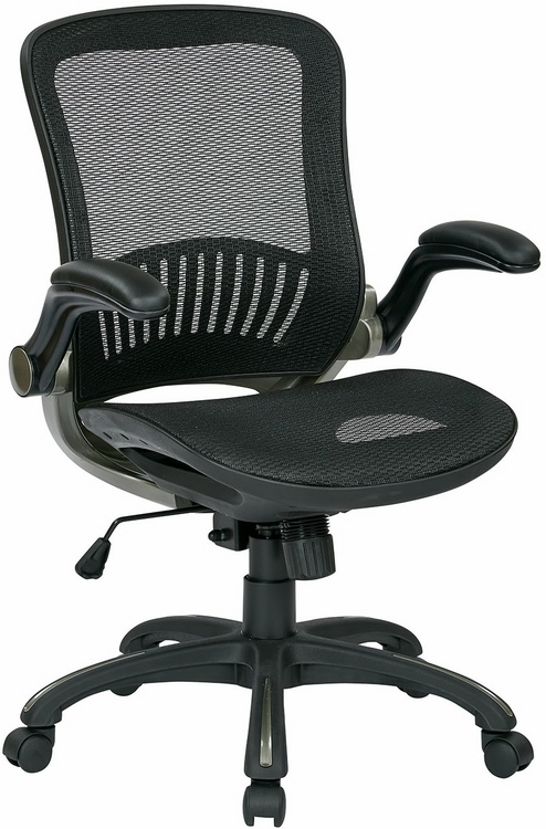 Office Star Chairs office star deluxe full mesh office chair - emh69007