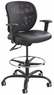 Safco Vue Mesh 24/7 Heavy Duty Drafting Stool [3394BL]