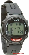 12 Alarm CADEX BLACK Medication Reminder and ALERT Watch (952433)