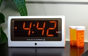 25 Alarm Talking Alarm Clock Large Display Reminder Rosie