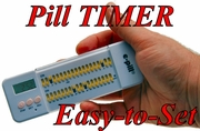37 Alarm e-pill Multi-Alarm PLUS Pill Box Pill Timer (759021)