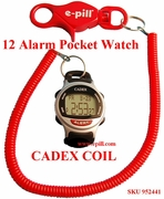 CADEX COIL 12 ALARM Pocket Watch and Medical Alert for Children (952441)