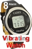 8 Alarm Vibrating Easy to Use Medication Reminder Watch