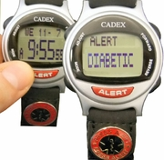 DIABETIC Bracelet ALERT looks like a normal Discreet Watch