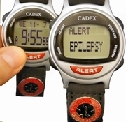 EPILEPSY Bracelet ALERT looks like a normal Discreet Watch