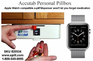 Weekly Pillbox / Pill Dispenser (No Monthly Fees)