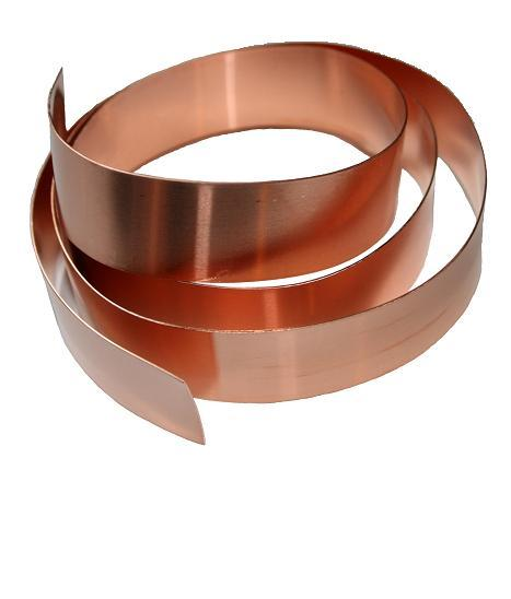 "Cookie Cutter Copper Strip/ 1"" X 10'"