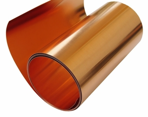 "22 Mil/ 36"" X 4' Copper Roll"