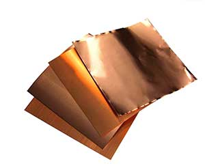 "Copper Roll Flashing 1 in 7//8"" x 6/' 16 oz"