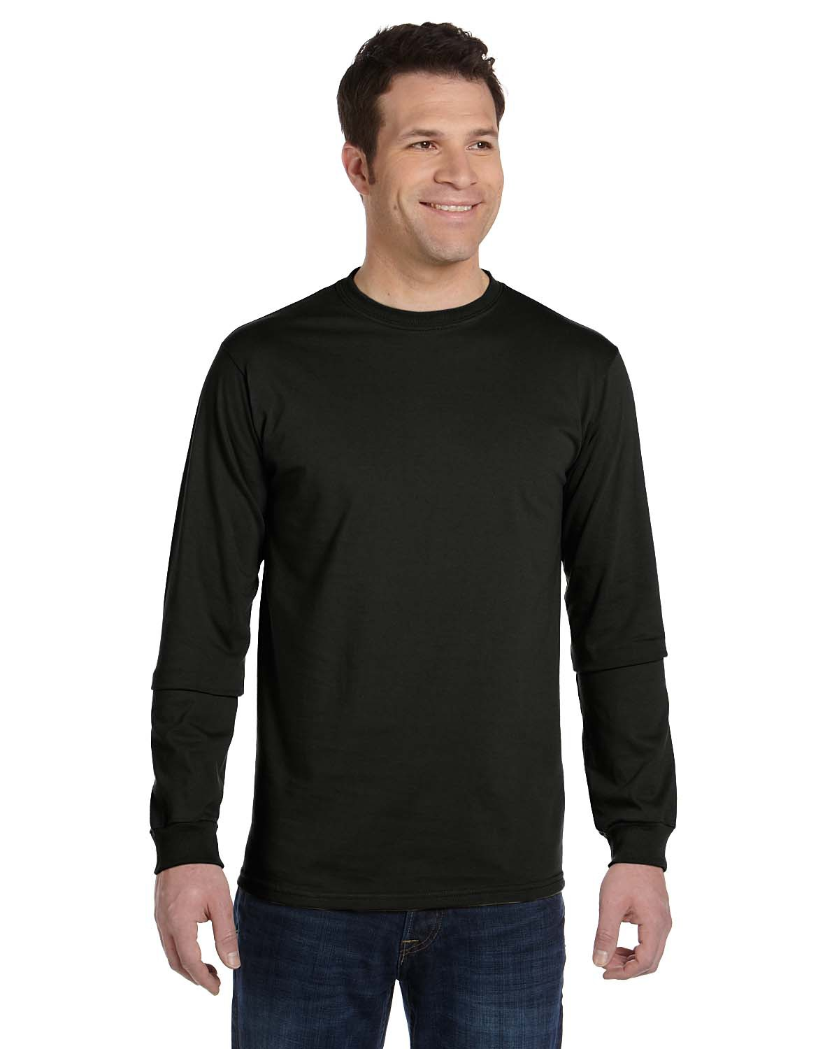 Cotton long sleeve t shirts men is shirt for Mens 100 cotton long sleeve t shirts