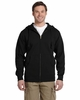 Men's Organic Cotton Recycled Polyester Full-Zip Hoodie