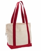 Organic Cotton Canvas Boat Tote Bag