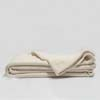 Organic Cotton Crepe Throw