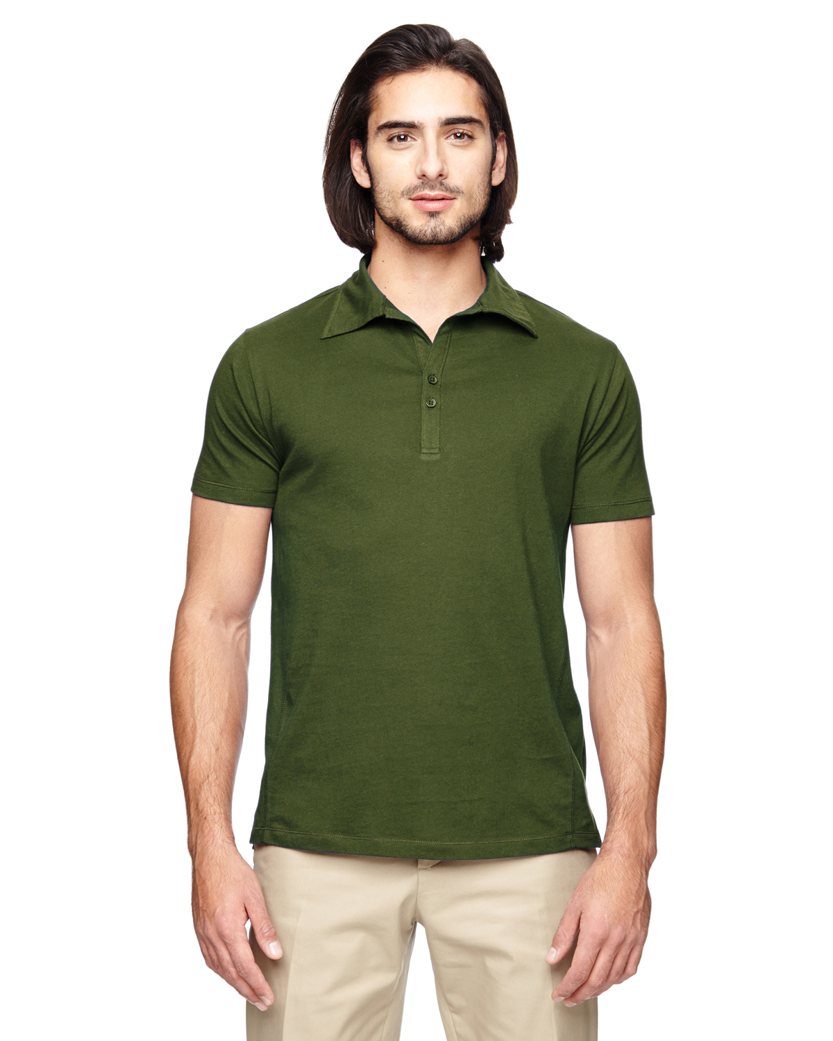 Polo Shirts for Men. You're going to love the classy look of a men's polo shirt. Belk's polo shirts come in varying styles like stripes, prints, classic solid colors like black and white and varying sleeve lengths, from short sleeve to long sleeve.