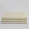 Organic Cotton Stripe Sateen Flat Sheet