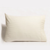 Organic Cotton Stripe Sateen Pillowcase Set