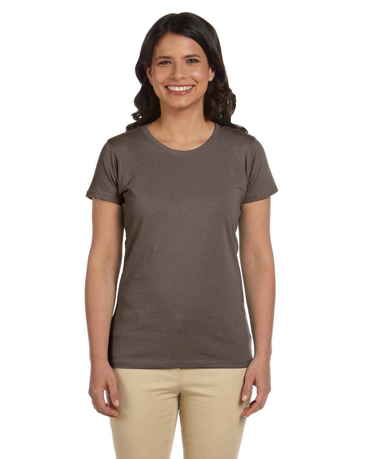 Certified organic cotton women 39 s classic short sleeve t for Short t shirts ladies
