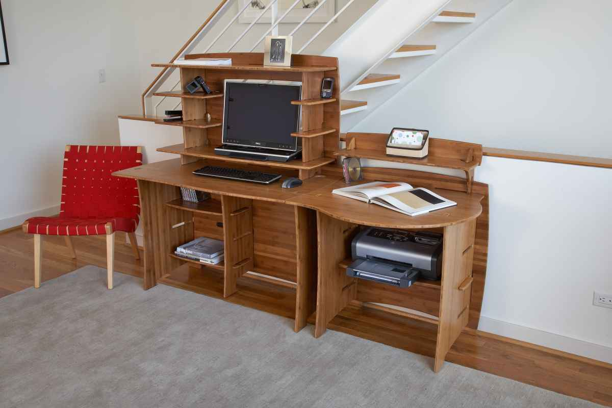 Sustainable Eco Friendly Bamboo Office Desk Furniture