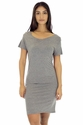 Women's Bamboo Organic Cotton Tee Dress