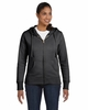 Women's Organic Cotton Recycled Polyester Full-Zip Hoodie