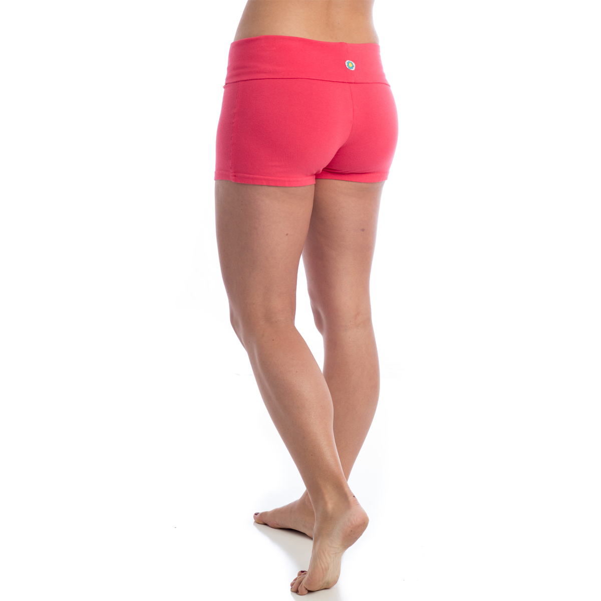 Women's Organic Cotton Yoga Shorts Love Activewear Workout