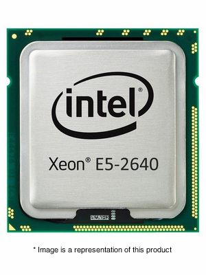 317-9628 - Dell Intel Xeon E5-2640 2.5 GHz 15MB Cache 6-Core Processor