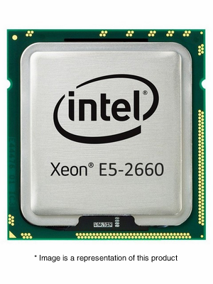319-0268 - Dell Intel Xeon E5-2660 2.2 GHz 20MB Cache 8-Core Processor