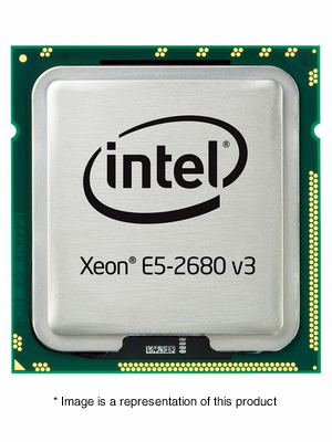 338-BGKQ - Dell Intel Xeon E5-2680 v3 2.5GHz 30MB Cache 12-Core Processor