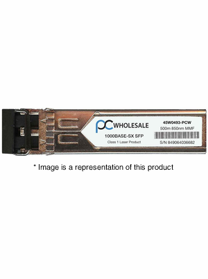 45W0493 - 1000BASE-SX 4gb/s 500m MMF 850nm SFP