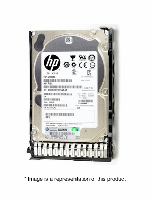 "652583-B21 - 600GB 2.5"" SAS 10K 6Gb/s SC Enterprise HDD"
