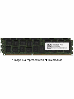 7100131 - 8gb (2x 4gb) PC3-10600 DDR3-1333Mhz 2Rx8  1.35v ECC Registered Memory Kit