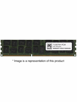7100794 - 16gb PC3-12800Mhz DDR3-1600Mhz 4Rx4 1.35v ECC Registered RDIMM