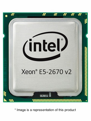 718057-B21 - HP Intel Xeon E5-2670 v2 2.5GHz 25MB Cache 10-Core Processor