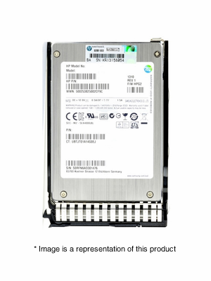 "741142-B21 - 400GB 2.5"" SAS MLC 12Gb/s SC Enterprise Mainstream SSD"