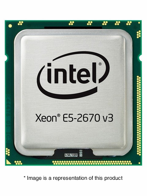 755392-B21 - HP Intel Xeon E5-2670 v3 2.3GHz 30MB Cache 12-Core Processor