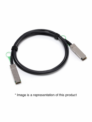 CAB-Q-Q-5M - 5m QSFP+ to QSFP+ Passive Direct Attach Copper Cable