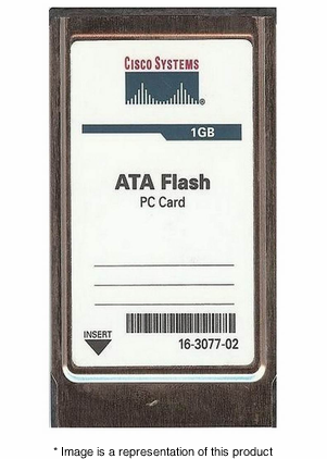 CRS-FLASH-DISK-1G - 1gb Compact Flash Disk PCMCIA