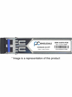 DEM-312GT2 - 1000BASE-SX 2km MMF 1310nm SFP