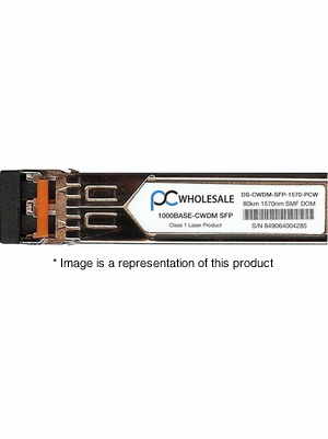 DS-CWDM-SFP-1570 - 1000BASE-CWDM 1570nm 80km SMF SFP