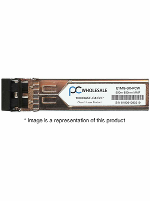 E1MG-SX - 1000BASE-SX 550m MMF 850nm SFP