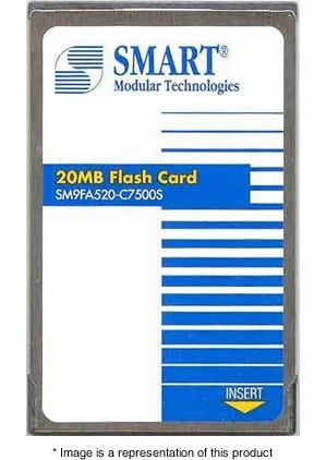 MEM-I/O-FLC20M - 20mb Flash Memory