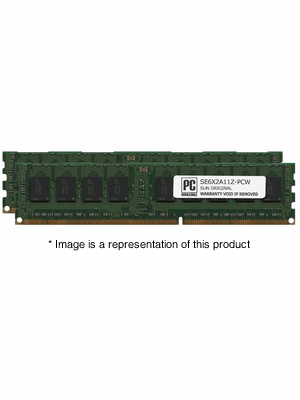 SE6X2A11Z - 4gb (2x2gb) PC3-10600 DDR3-1333Mhz 1Rx4 ECC Registered Memory Kit