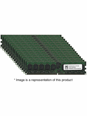 SEMX2A1Z - 16gb (16x1gb) PC2-4200 DDR2-533Mhz 1Rx4 ECC Registered Memory Kit