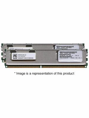SESX2A1Z - 2gb (2x1gb) PC2-5300 DDR2-667Mhz 1Rx8 1.5v ECC Fully Buffered Memory Kit